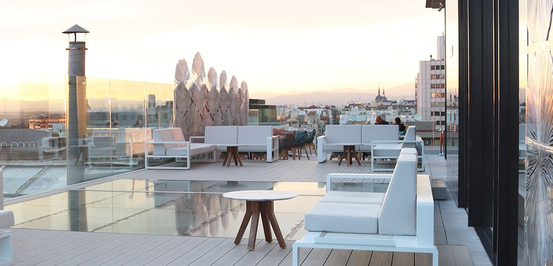 Ginkgo sky bar la terraza del a o 2018 en madrid for Sky design hotel