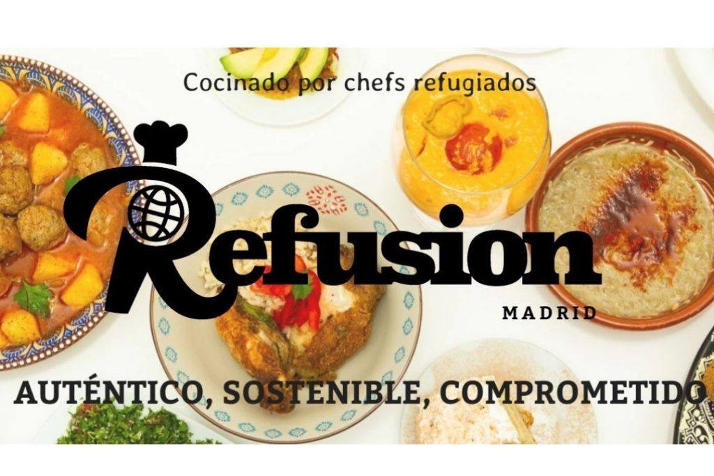 refusion madrid comida a domicilio madrid go out refugiados