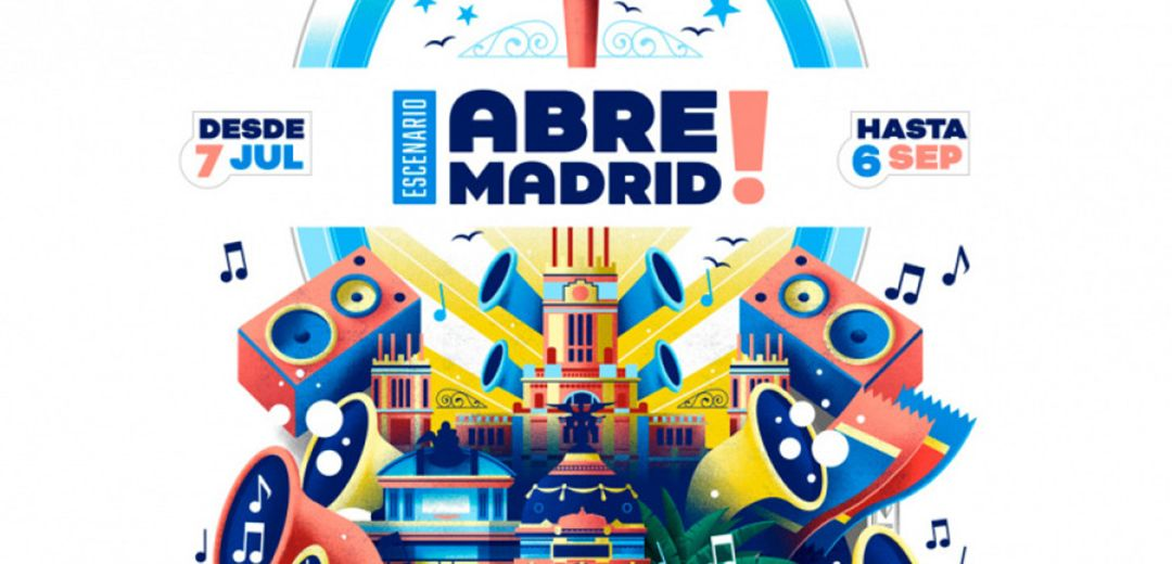 Planes en Madrid en julio 2020